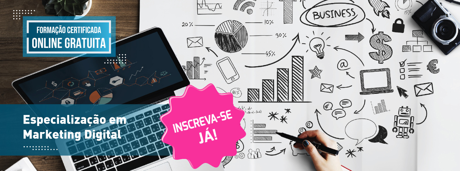 Especialização em Marketing Digital